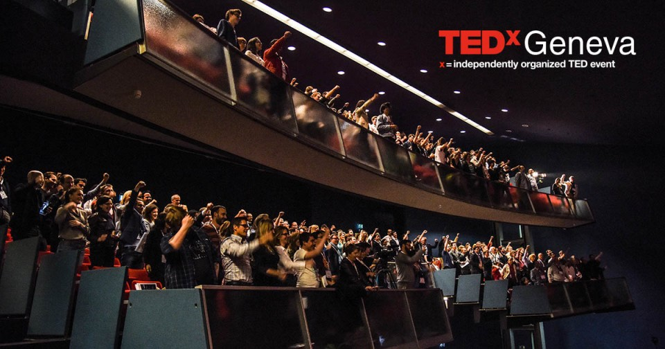 Audience of the latest TEDxGeneva event.